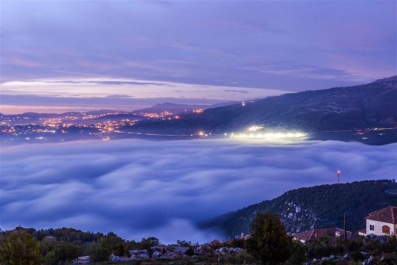 .The magical sea of clouds! Good afternoon all.| Location : Tarchich ,LB | (Tarchich)