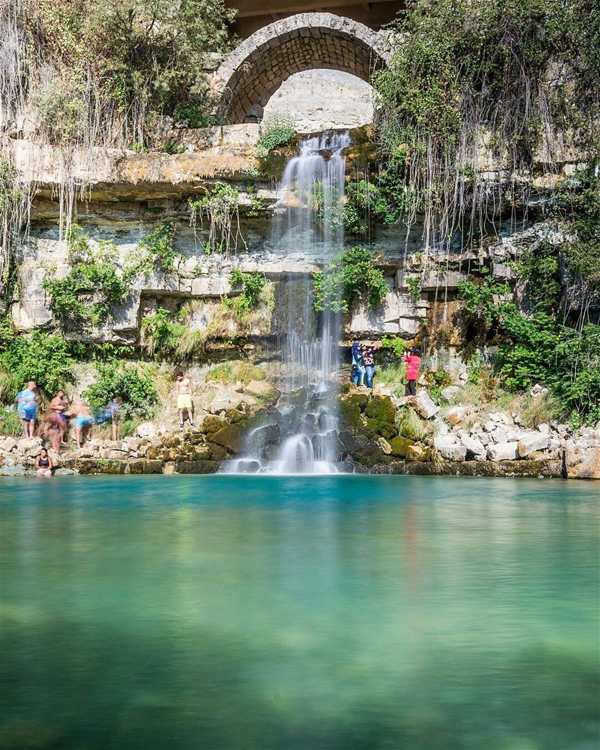 The beautiful waterfall and lake of Afka! Good evening dear friends! We... (Afka, Mont-Liban, Lebanon)
