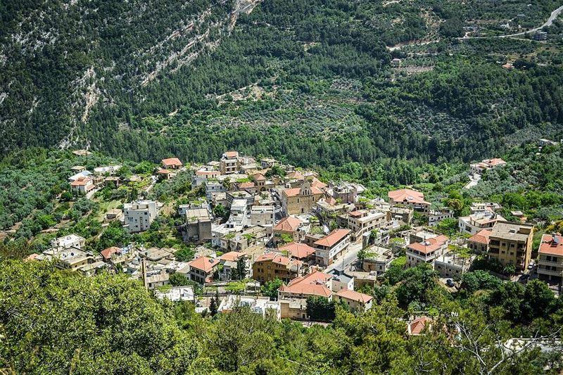 .Tourza, North Lebanon. A Beautiful traditional Lebanese Village!...... (Tourza, Liban-Nord, Lebanon)