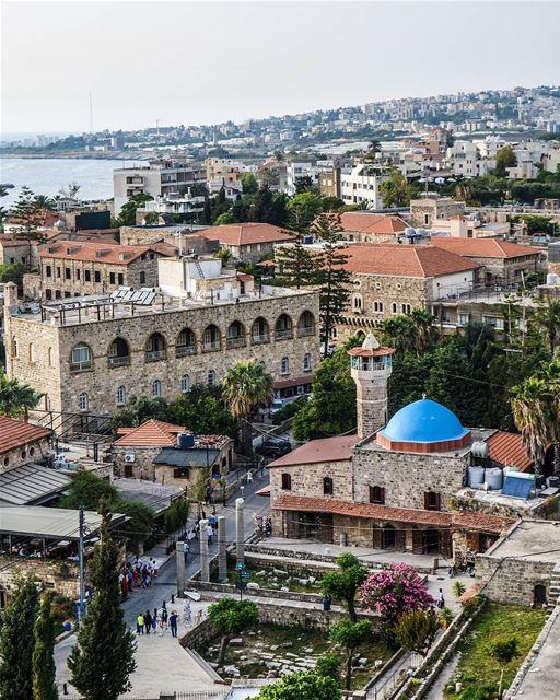 .Good evening dear friends. Byblos Lebanon. Photo taken from the castle.... (Byblos, Lebanon)
