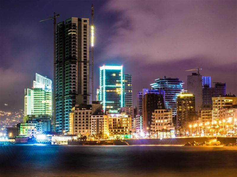 .Good evening from beirut @livelovebeirut ! Have a nice weekend dear... (Beirut, Lebanon)