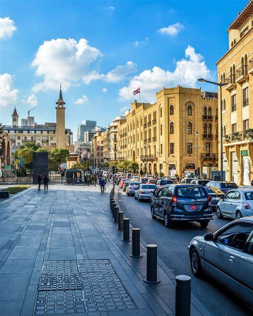.Good evening dear friends from Downtown of Beirut !... (Downtown, Beirut, Lebanon)
