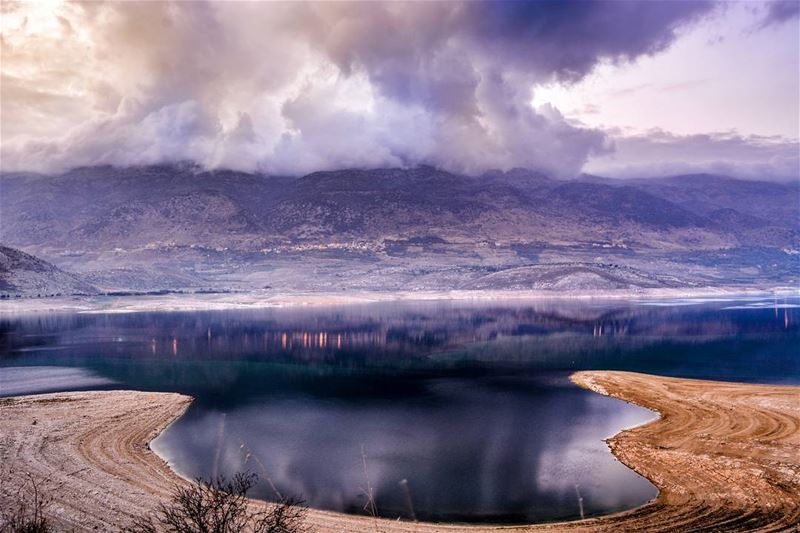 Good afternoon dear friends from Karouun,West Bekaa. Unfortunately water... (Karoun Lake)
