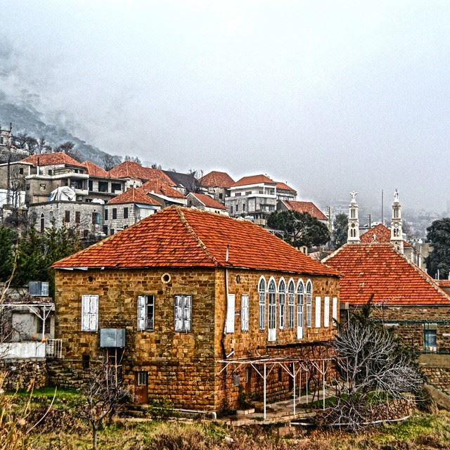Good evening all The Traditional Lebanese village, BaskintaA wintry day...