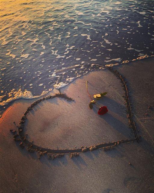 🥀❤... valentines tyrepage beach jnoub love southlebanon snow ...