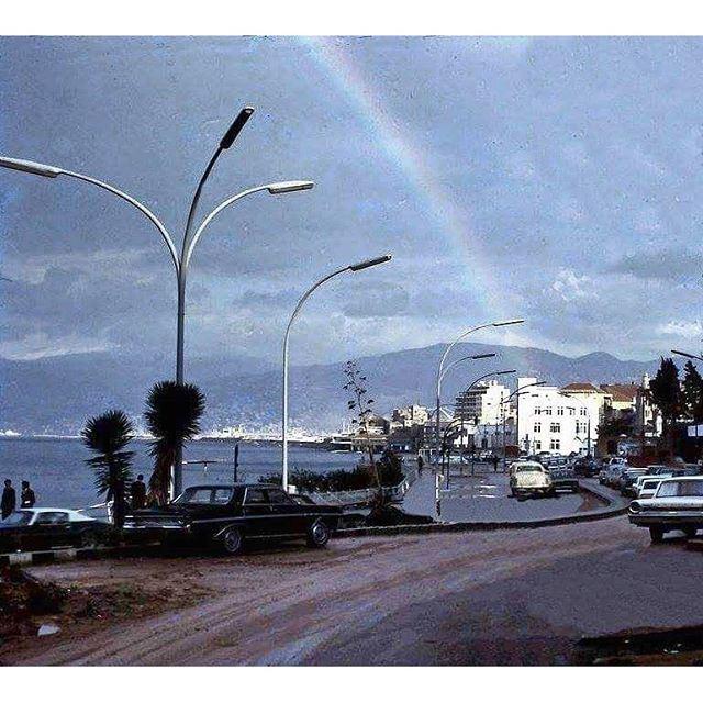 Beirut Cornishe Saint George 1974 .
