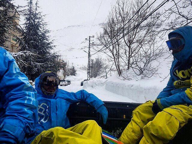 ⬆️⬆️⬆️⬆️ You'll find us at the top. Get ready for a sick solid snow kicker... (Ouyoun El Simen-Kfardebian)