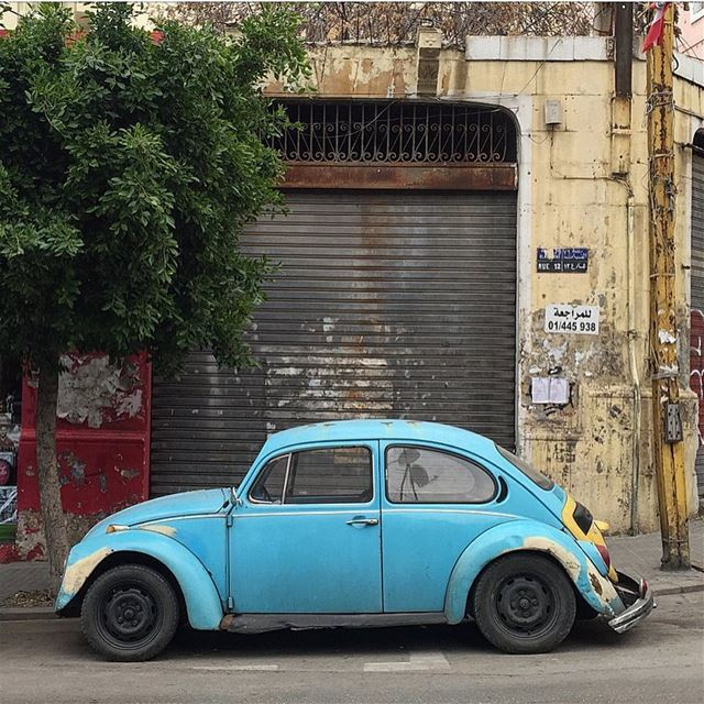 I think about you a little more than I should 🚙😂💙 ........ VW ... (Beirut, Lebanon)