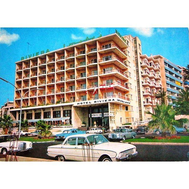 Beirut Riviera Hotel 1974 .