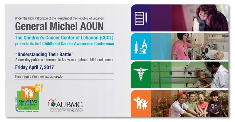 childhood cancer public awareness conference aubmc cccl beirut ...