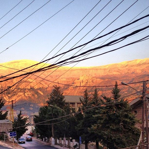 Sunset in Qadisha Valley, ... (Bcharri, Liban-Nord, Lebanon)