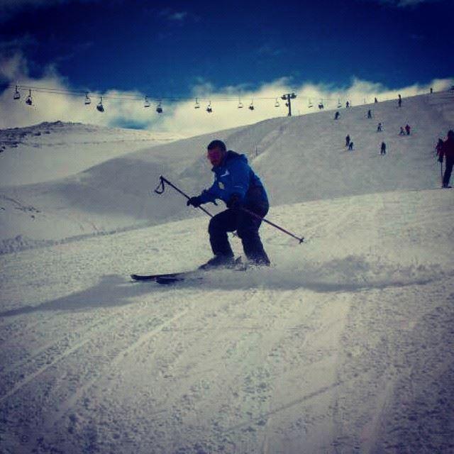 snow faraya ski lebanon-hdr discovermylebanon livelovefaraya...