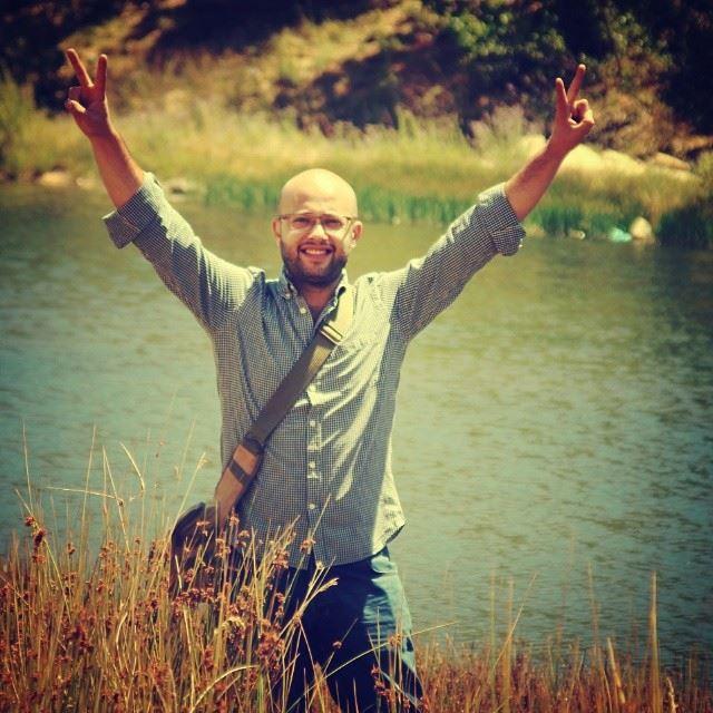 nature lebanon lake green blue smile victory ... (Cedars of God)