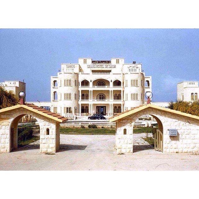 Grand Hotel De Saida 1960 .