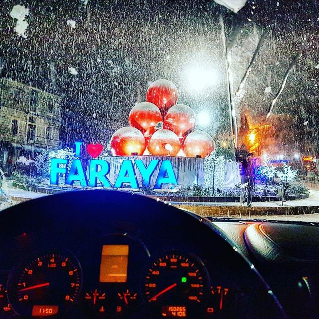 Last Night ❄ lebanon faraya favoritehashtagever positivevibes ... (Faraya, Mont-Liban, Lebanon)