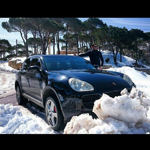 Snow winter Me Bekfaya Beirut lebanon Mountain City My Black ...