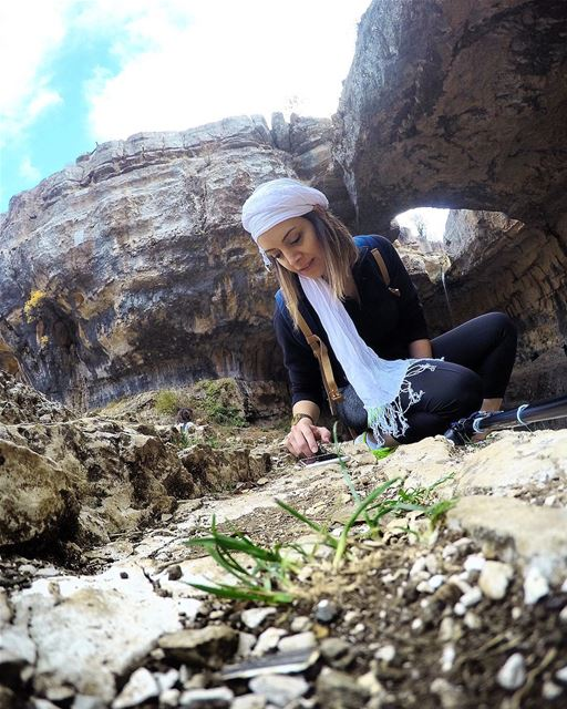 🐼 hiking LMTtrail balou3bal3a douma fighri cave waterfall nature ... (Tannourine-Balou3 Bal3a)
