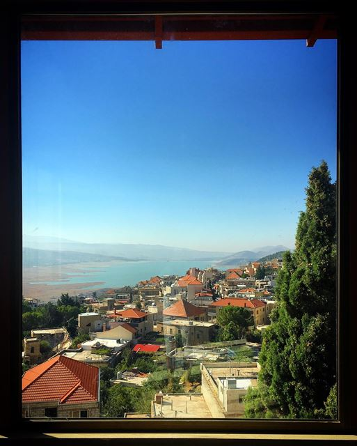 What a view to Wake up to ...🏡 myhouse wakeupforthis myview ... (Saghbîne, Béqaa, Lebanon)
