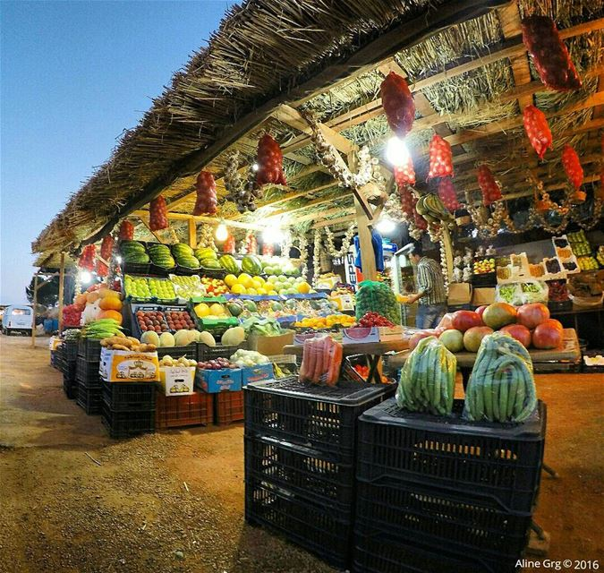 ... من خيرات السهل From Bekaa with L❤ve 🎃🍎🍑🍓🍉🍅🌽🍈🍏🍊🍌🍋🍐🍒🍍🍇🍆 (West Bekaa)