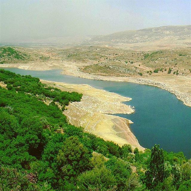 Part 3/3: My Hometown 🏡 hometown bekaa quaraounlake landscape lake ... (Saghbîne, Béqaa, Lebanon)