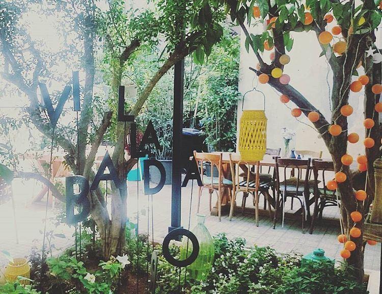 Fresh Outdoor 🍊 villabadaro outdoor lunch badaro lebanon ... (Villa Badaro)