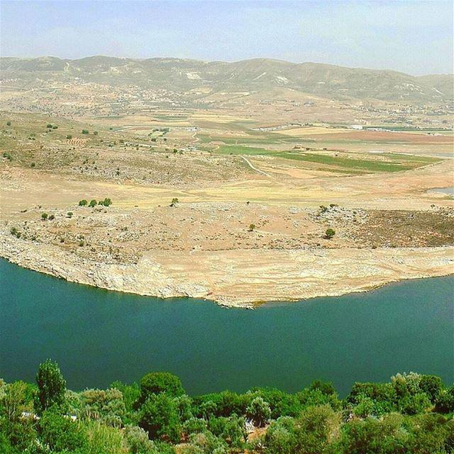 Part 2/3: My Hometown 🏡 hometown bekaa quaraounlake landscape nature... (Saghbîne, Béqaa, Lebanon)