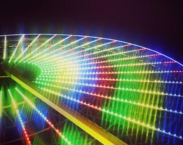 ..بكرا بيبرم دولابك ferriswheel beirutstreets lightcolors ... (بيروت)
