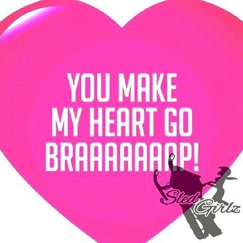 Happy Valentine's Day Snowmobile Lovers 💝 polaris fxr polarisrider ...