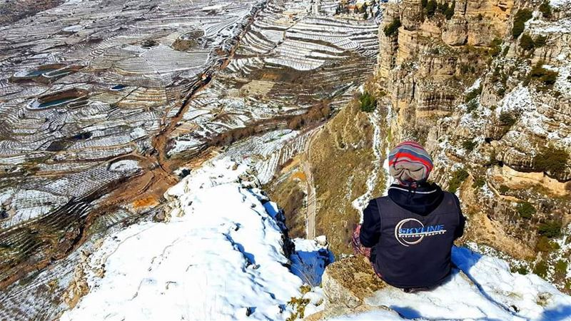 A Great challenge... viaferrata in snow(hard level) Meet us this sunday...