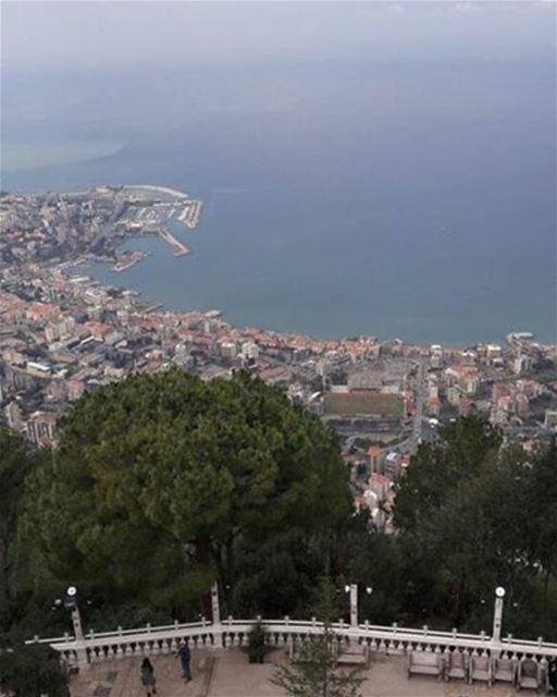 My lebanon 🇱🇧 jounieh harissa stemarie ladyoflebanon photo ... (Teleferque Harissa Jounieh)