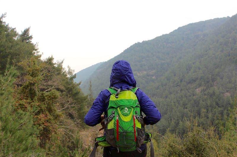 hiking rainyday lebanesemountains mezyara naturelovers natureaddict ... (Saydet Mizyara)