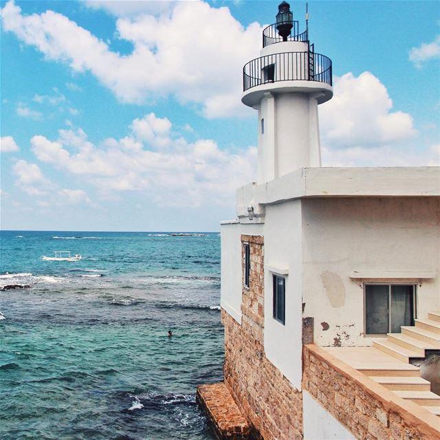 •The lighthouse• Lebanon livelovelebanon halfandhalfproject ... (Tyre, Lebanon)