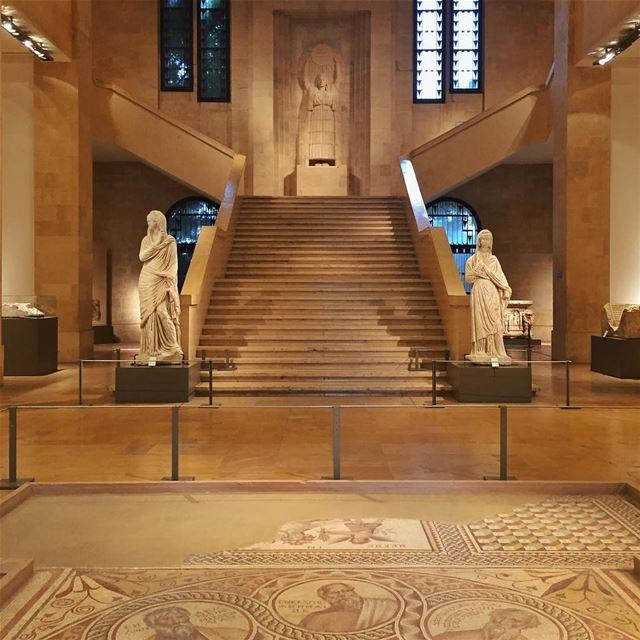 •Museum of Beirut• latergram BeirutMuseum livelovebeirut ... (National Museum of Beirut)
