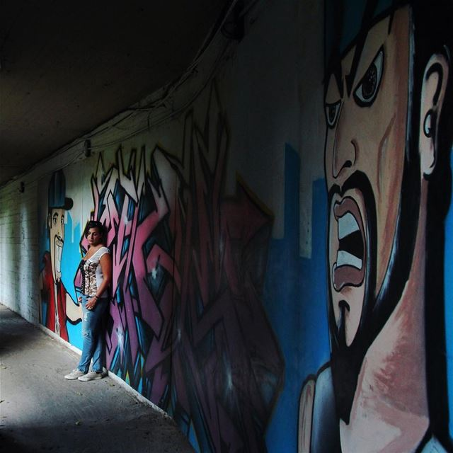 •Beirut Streetart• Philintravel LiveLoveLebanon HuntgramLebanon ... (Mar Mikhael, Beirut)