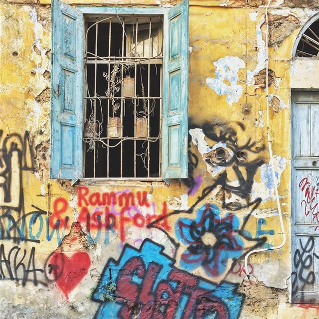 •Wait for me here• Gemmayze Lebanon lebanesearchitecture ... (Gemmayzeh)