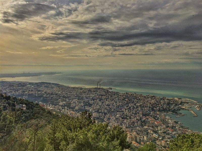 shattered kaleidoscopes .... scenic harissa nature_perfection nature... (Teleferque Harissa Jounieh)