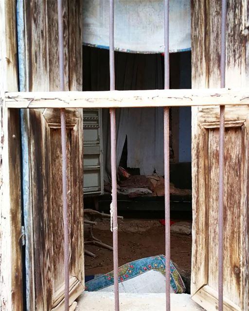 The old window ( pure typical lebanese) old pure lebanese oldstyle ... (El Kaa, Béqaa, Lebanon)