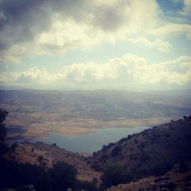 sky mountain lake ...