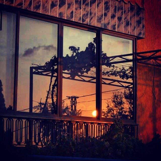 sunset glass reflection photography photooftheday nikon nature ...