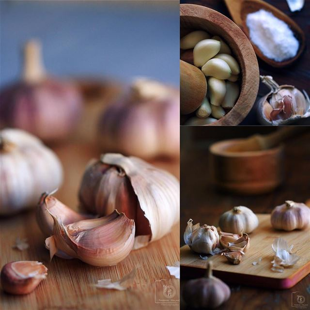 A litta-bit-a Garlic home window food foodie Lebanon beirut macro ...