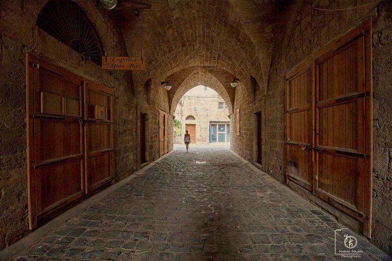 Batroun history market doors wood tunnel arc photoftheday beirut ...