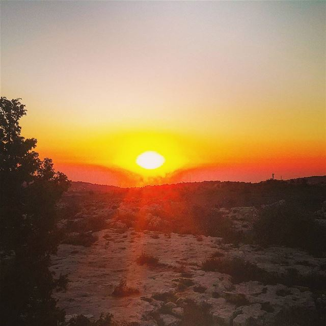 """Every sunset brings the promise of a new dawn"" sunset sunset_ig... (Ain w Zein)"