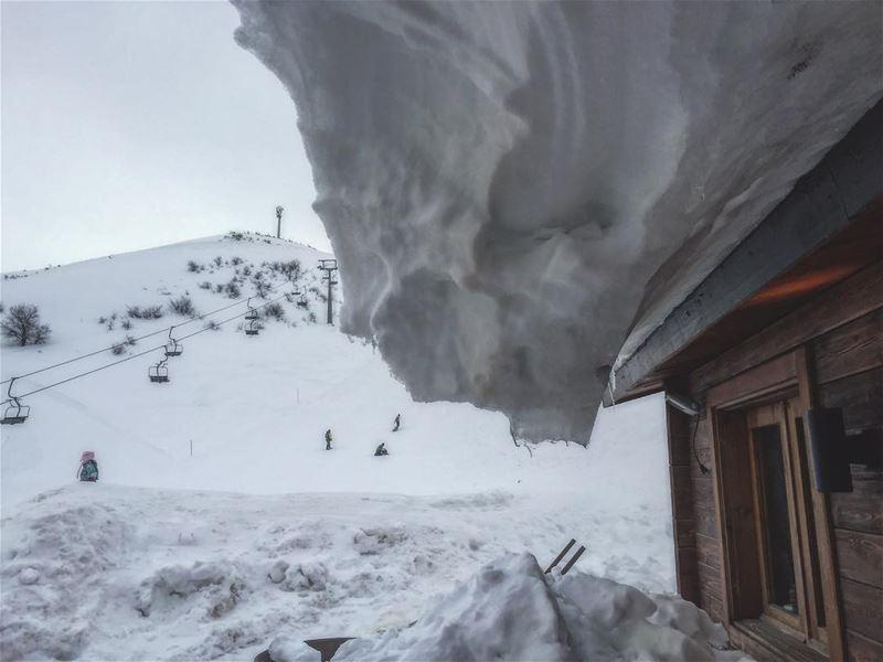 Cold mondays⛄️ super_lebanon lebanontimes ... (Zaarour Club)