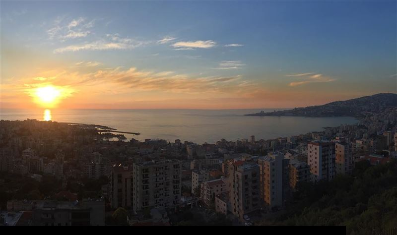 Home is from where you can see Jounieh's Bay🌅 (Joünié)