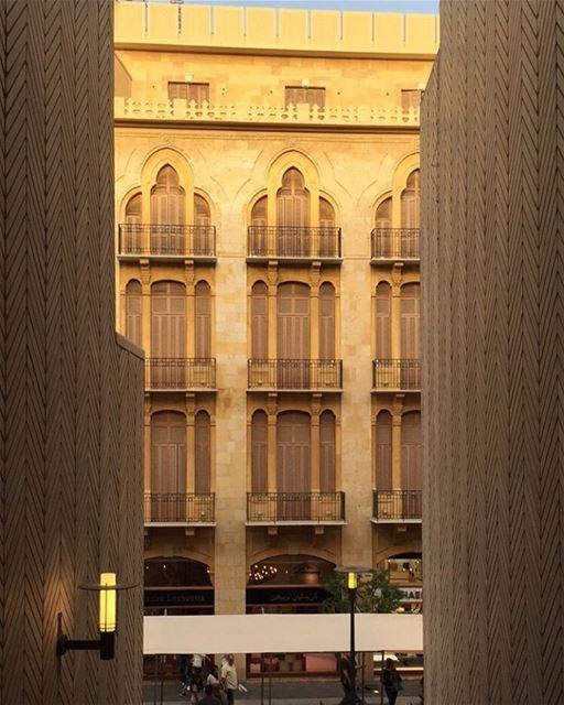 Where old meets new beirutsouks 😍 whatsuplebanon insta_lebanon ... (Beirut Souks)