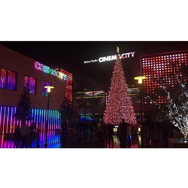 MerryChristmas 🎄 beirut ❤️ christmas livelovebeirut ... (Beirut Souks Cinemacity)