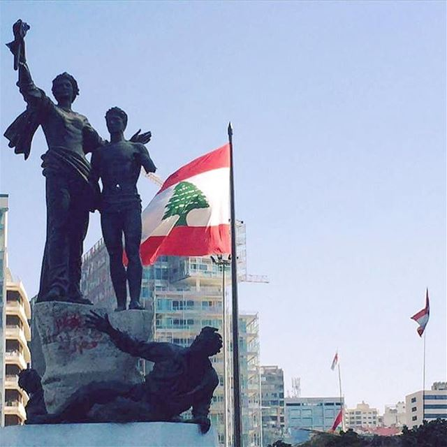Good morning from Martyrs' Square the home town of Plus Towers! ... (Martyrs' Square, Beirut)