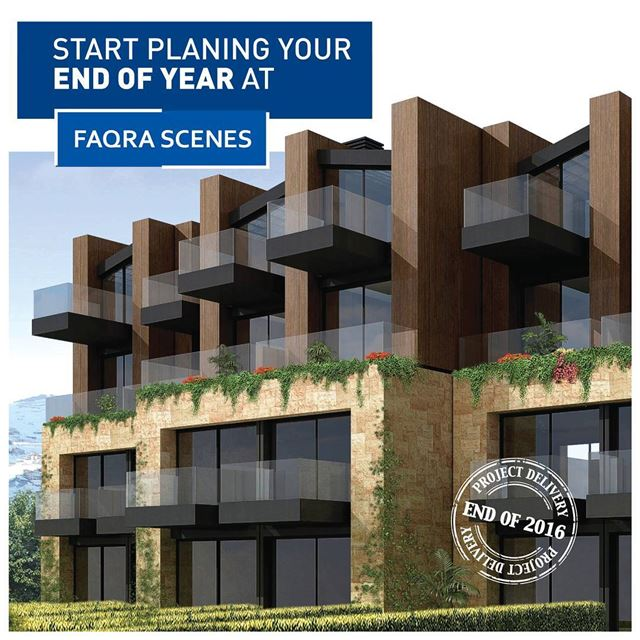 Duplex Chalets in Faqra starting $305,000!Now you can start planning your...