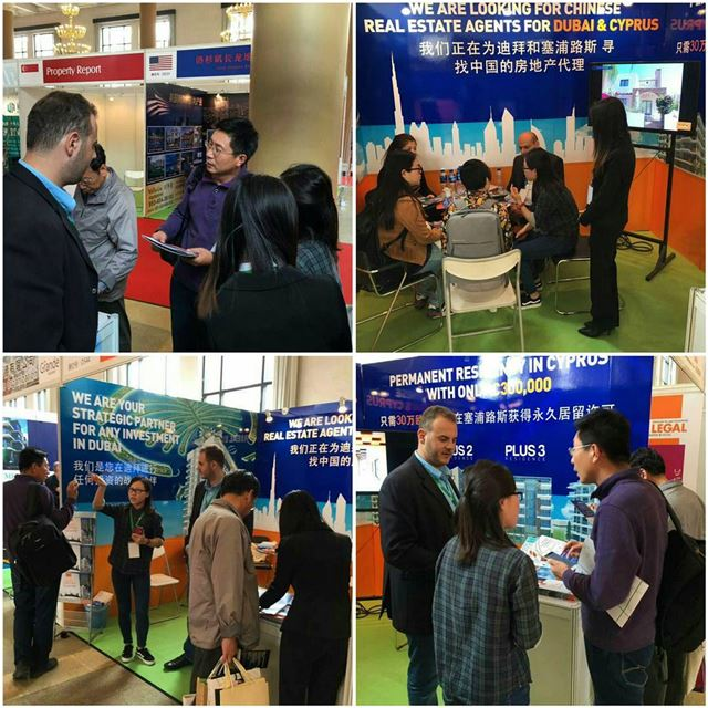 Plus Properties stand is a huge success at the Beijing International... (Beijing, China)