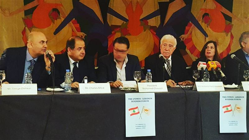 @georgeschehwane speaker at the press conference organized by the Cypriot...